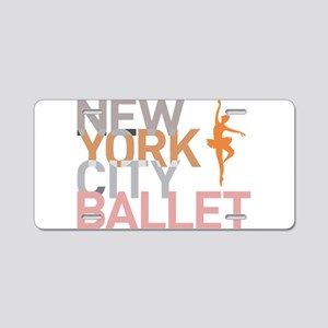 Ballet Aluminum License Plate