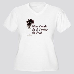 Wine Diet Plus Size T-Shirt
