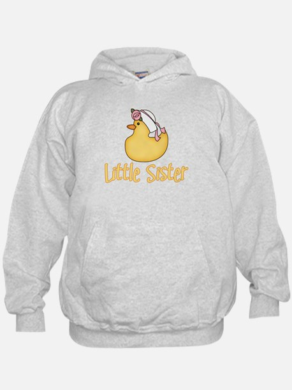 Yellow Duck Little Sister Hoodie