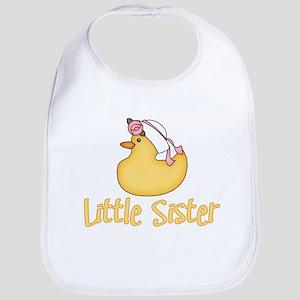 Yellow Duck Little Sister Bib