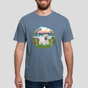 Garden-Shore-Westie5 Mens Comfort Colors Shirt