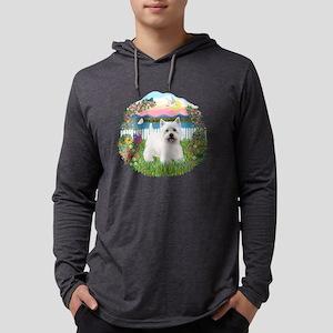 Garden-Shore-Westie5 Mens Hooded Shirt