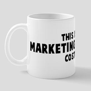 Marketing Manager costume Mug