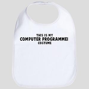 Computer Programmer costume Bib