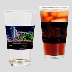 Blazing Neons Chicago Lincoln Avenue Drinking Glas
