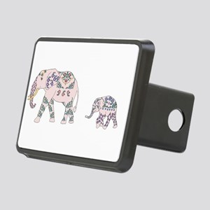 Pink Elephant Parade Hitch Cover