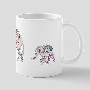 Pink Elephant Parade Mugs