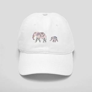 Pink Elephant Parade Baseball Cap