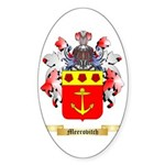 Meerovitch Sticker (Oval 50 pk)