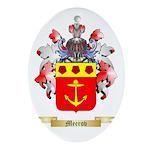 Meerov Oval Ornament