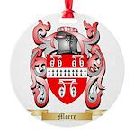 Meere Round Ornament