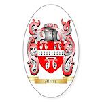 Meere Sticker (Oval 50 pk)
