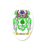 Meeny Oval Car Magnet