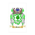 Meeny Sticker (Rectangle 50 pk)