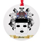 Meeks Round Ornament