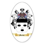 Meeks Sticker (Oval 10 pk)