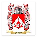 Meehan Square Car Magnet 3