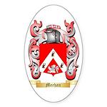 Meehan Sticker (Oval 10 pk)