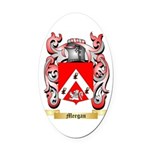 Meegan Oval Car Magnet