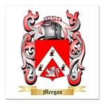 Meegan Square Car Magnet 3