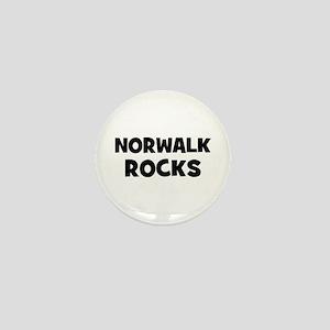 Norwalk Rocks Mini Button