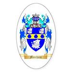 Meecham Sticker (Oval 10 pk)