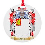 Meech Round Ornament