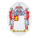Meech Oval Ornament