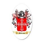 Medrano Oval Car Magnet