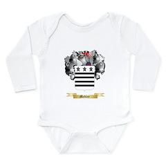 Medley Long Sleeve Infant Bodysuit