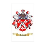 Medland Sticker (Rectangle 50 pk)