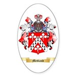 Medland Sticker (Oval 10 pk)