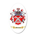 Medland 20x12 Oval Wall Decal