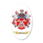 Medding 20x12 Oval Wall Decal