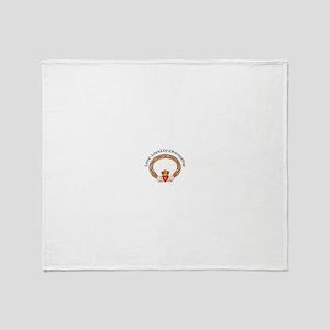 Claddagh Throw Blanket