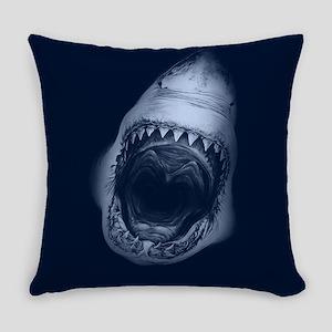 Big Shark Jaws Everyday Pillow