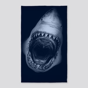 Big Shark Jaws Area Rug