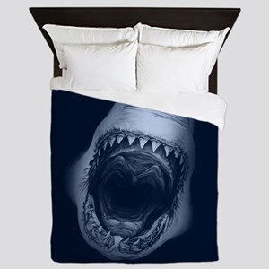 Big Shark Jaws Queen Duvet