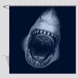 Big Shark Jaws Shower Curtain