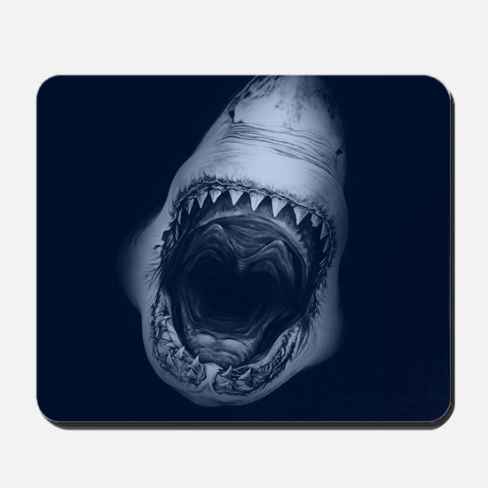 Big Shark Jaws Mousepad