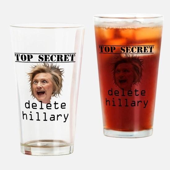 Unique Top secret Drinking Glass
