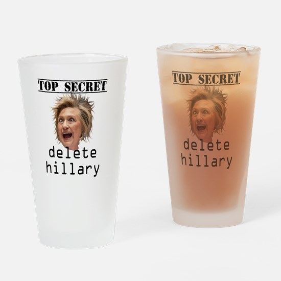 Cute Clinton Drinking Glass