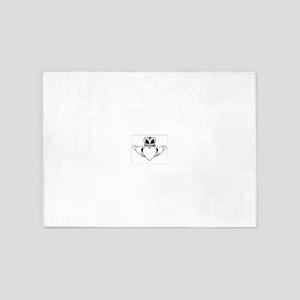 Claddagh 5'x7'Area Rug