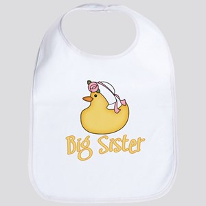 Yellow Duck Big Sister Bib
