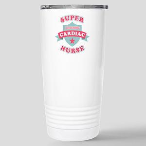 Super Cardiac Nurse Stainless Steel Travel Mug