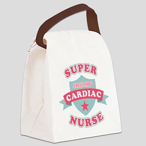 Super Cardiac Nurse Canvas Lunch Bag