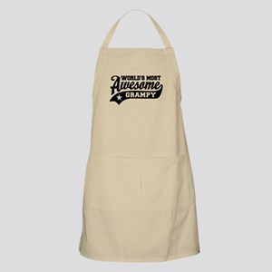 World's Most Awesome Grampy Apron