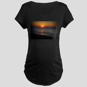 Bat Yam Beach Maternity T-Shirt