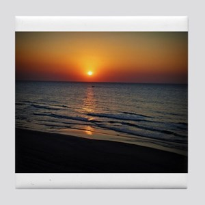 Bat Yam Beach Tile Coaster