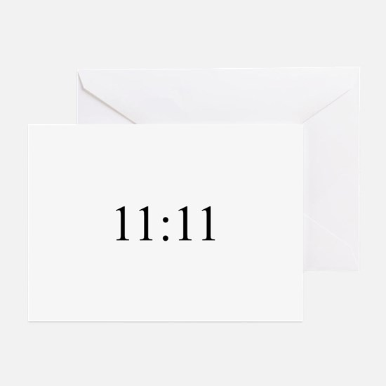 11:11 Say Hello Greeting Cards (Pk of 10)